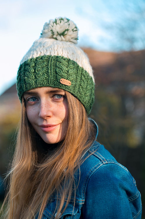 Bobble Hat with Band