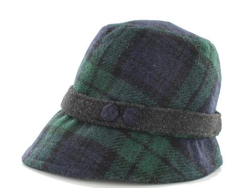 """Mary Frances"" Blackwatch Hat"