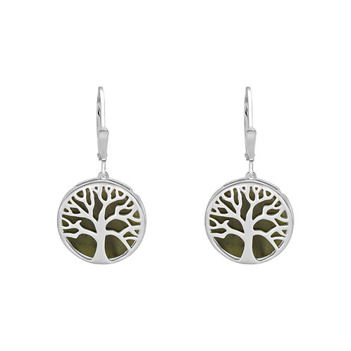 Connemara Marble Tree Of Life Earrings