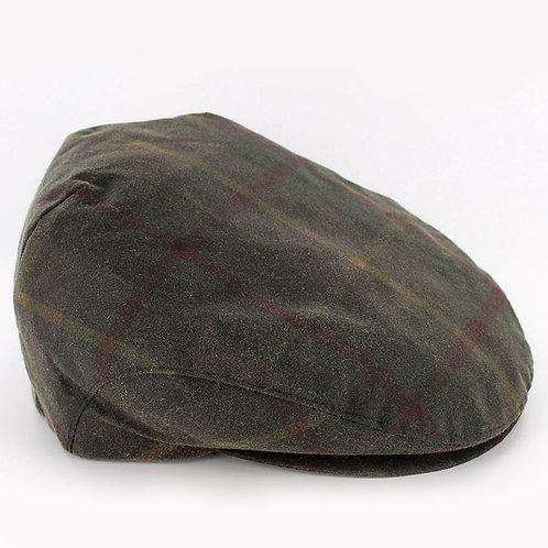 Trinity Wax Tartan Green Cap