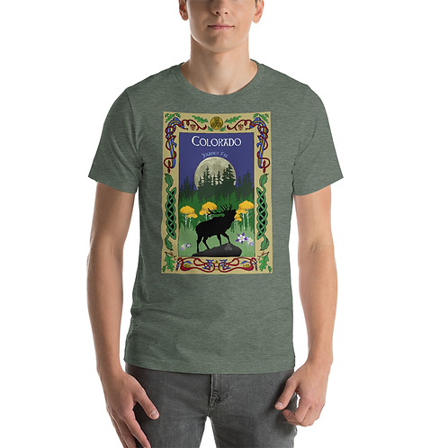 Colorado Elk Postcard T-Shirt