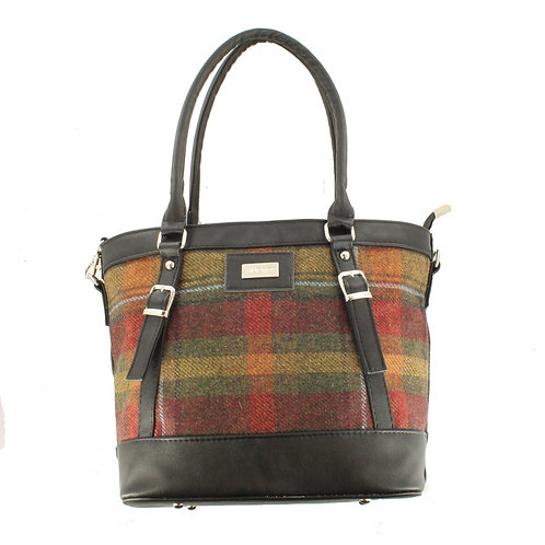 Kelly Purse: Autumn Plaid