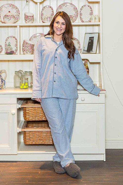 Navy & White Stripe Pajamas