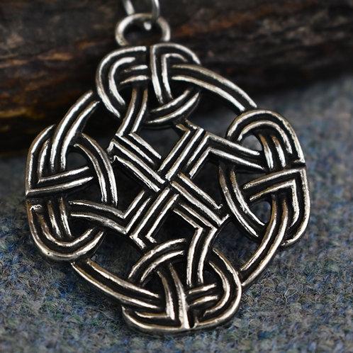 Eternal Knot Cross Pendant