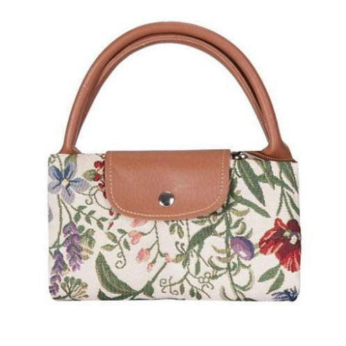 Tapestry Fold-Away Tote