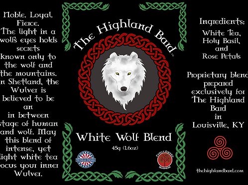 White Wolf Tea Tin
