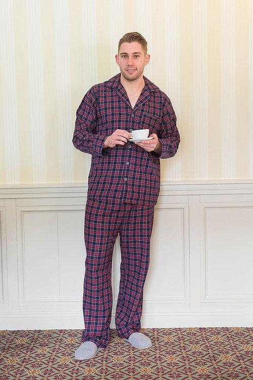 Purple & Navy Tartan Pajamas