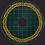 Thumbnail: Celtic Holiday Tree Skirt