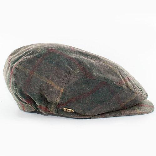Kerry Wax Tartan Green Cap