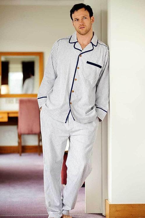 Blue & Red Stripe Pajamas