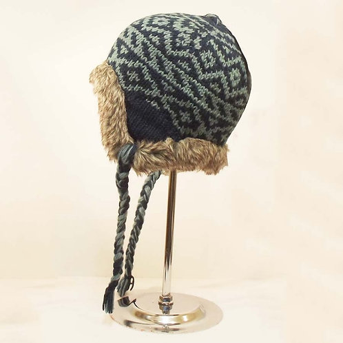 Earflap with Fur Hat