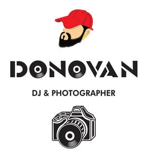 DONOVAN logo and icon design