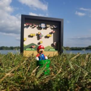 Super Mario World Shadow box