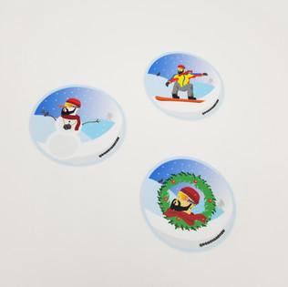 DONOVAN Winter sticker pack