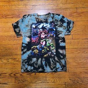 X-men Reverse tie dye