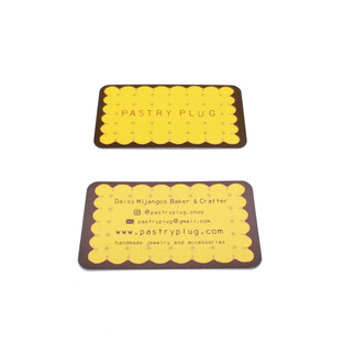 Pastry Plug Business card