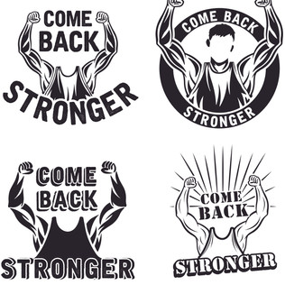 Comeback Stronger design options