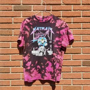 Batman Reverse tie dye