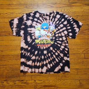 My Hero Academia x Hello Kitty Bleach Tie Dye