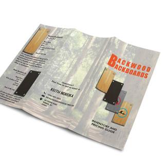 Backwoods Backboards Brochure 2
