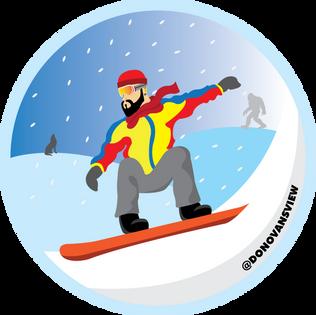 DONOVAN winter illustration