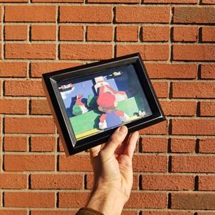 Super Mario 64 Shadow box