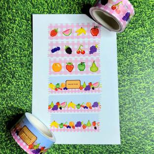Pastry Plug custom washi tape