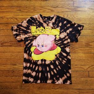 Kirby Bleach Tie Dye
