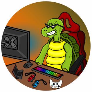 Keyboard Turtle Avatar