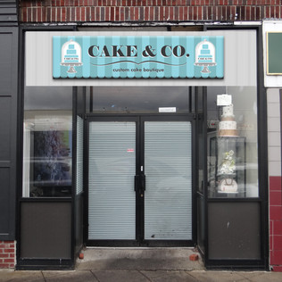 Cake and Co Nj store front layout