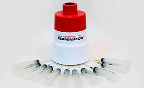 Sharps Terminator syringes