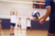 Servir de voleibol