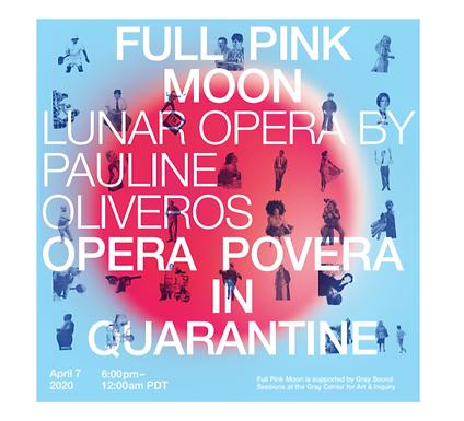 Pink Moon Opera