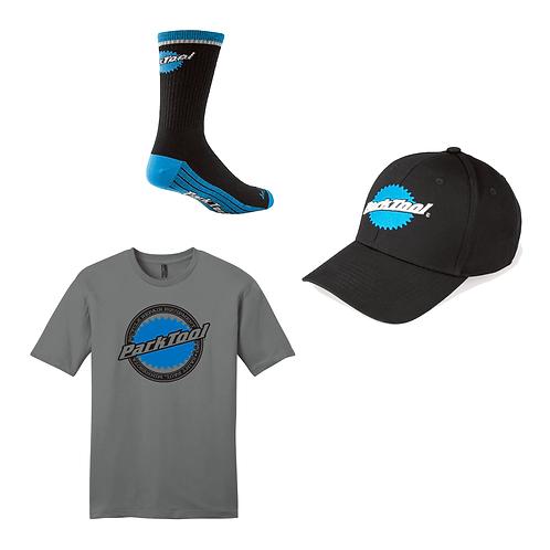 COMBO: Camiseta + gorro + calcetines de ciclismo