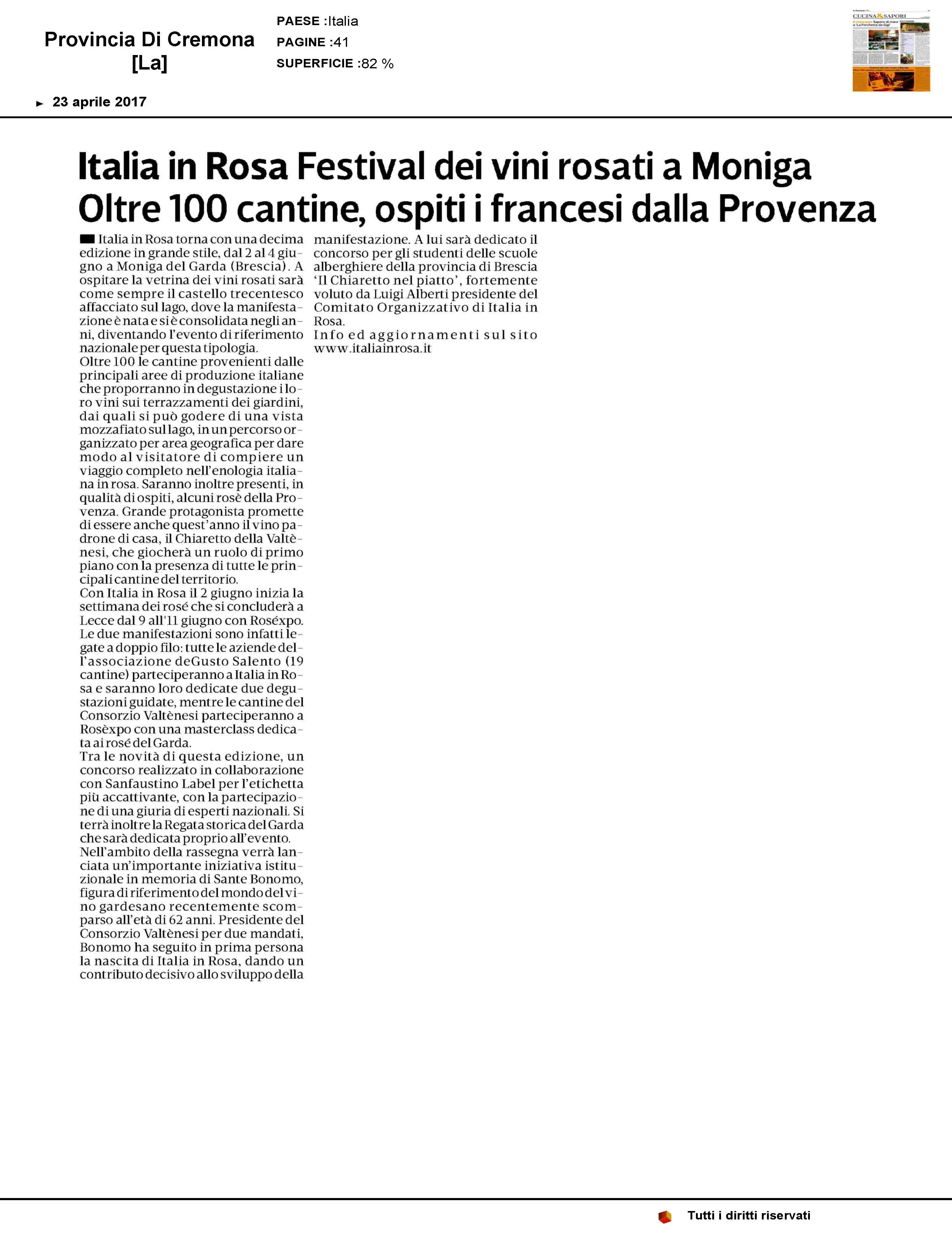 LAPROVINCIADICREMONA_italiainrosa 23apr17_Pagina_1