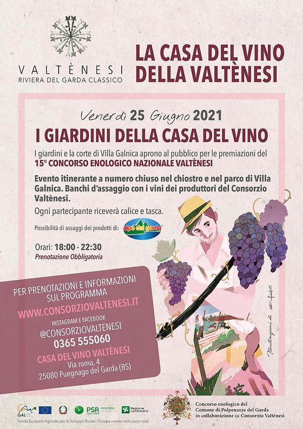 CONSORZIO VALTENESI - Locandina Rosa Val