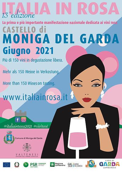 italiainrosa2020 cartolina Ufficiale rin