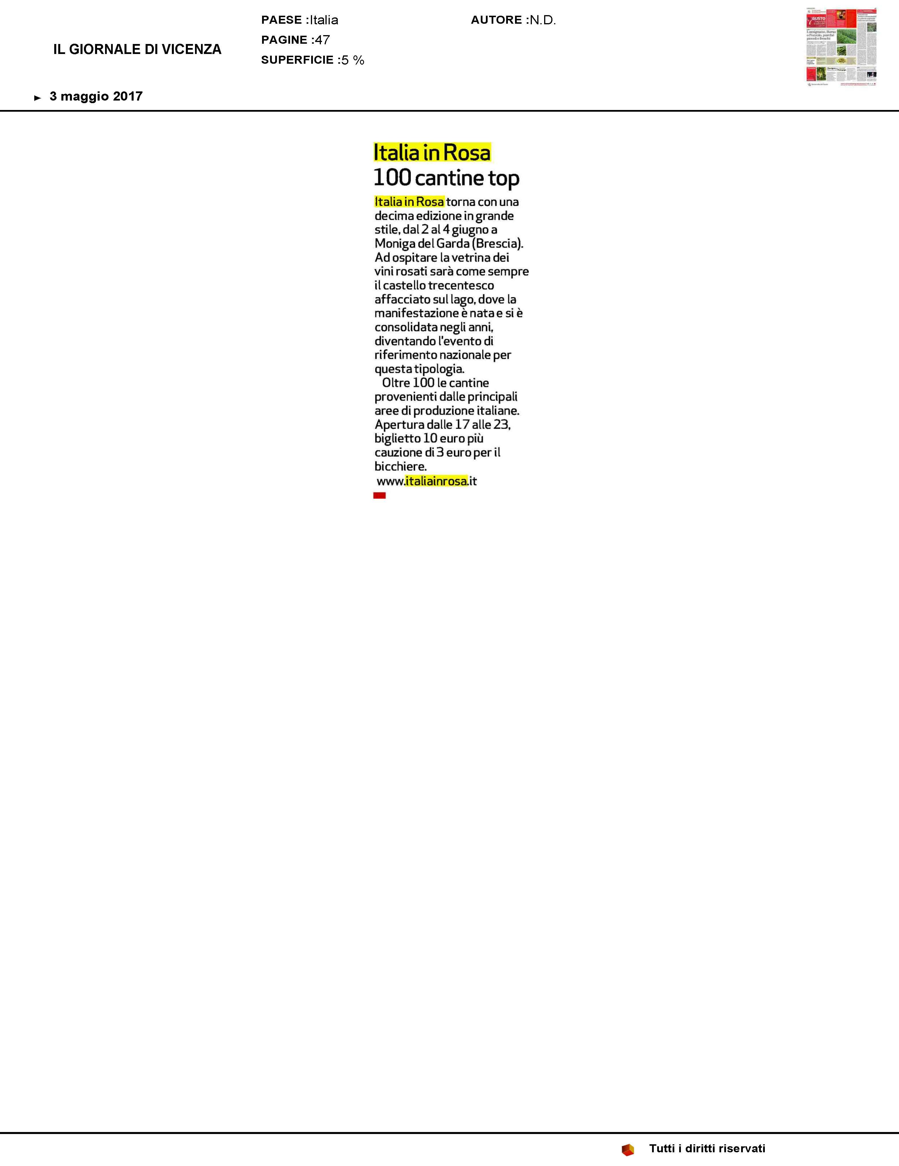 ILGIORNALEDIVICENZA_lancio 3mag17