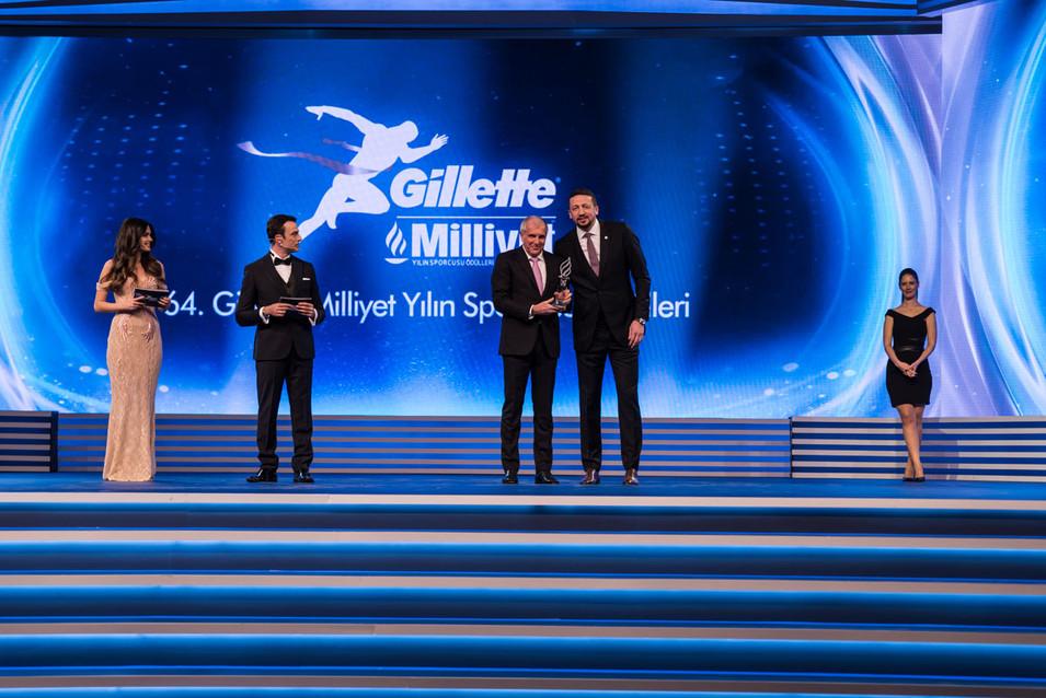 Gillette Milliyet Yılın Sporcusu Ödülleri 2018 Etkinlik Fotoğrafı #08 Zeljko Obradovic Hidayet Türkoğlu