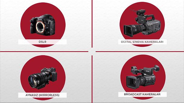 Farklı Kamera Türleri ve Kullanım Amaçlarımız