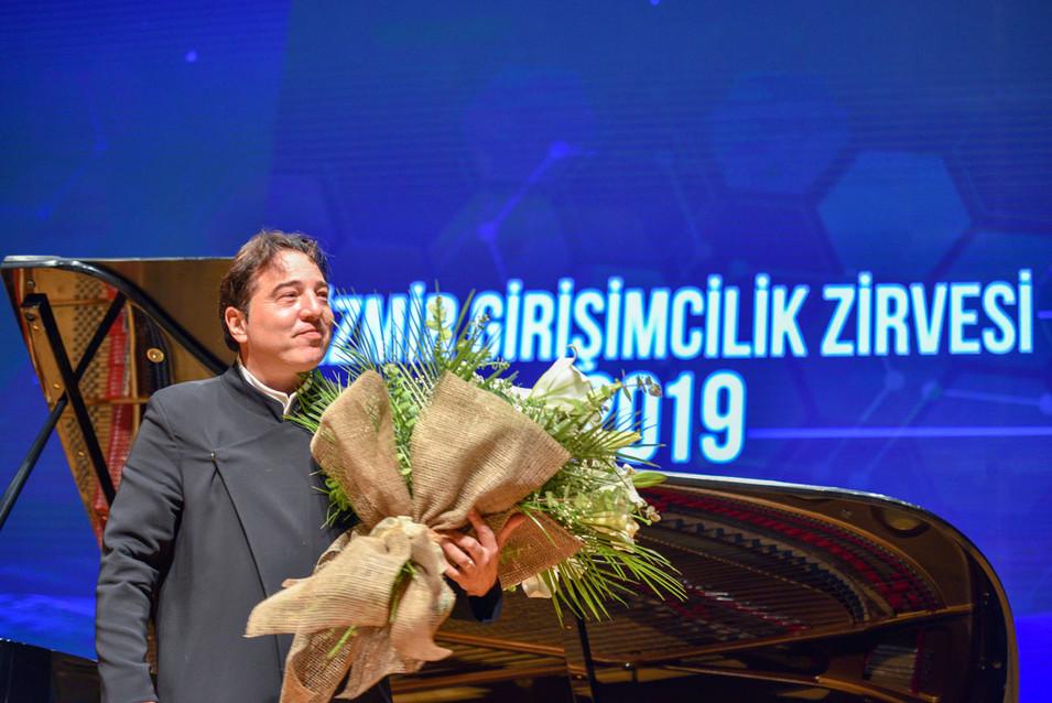 İzmir Girişimcilik Zirvesi 2019 Fazıl Say Etkinlik Fotoğrafı #06