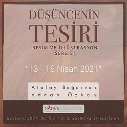 """""""Düşüncenin Tesiri"""" Sergisi 13 Nisan'da Açılıyor"""