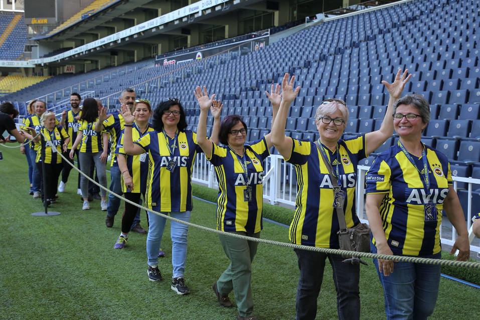 Avis Fenerbahçe Anneler Günü Kutlaması Şükrü Saraçoğlu Stadyumu Etkinlik Fotoğrafı #04