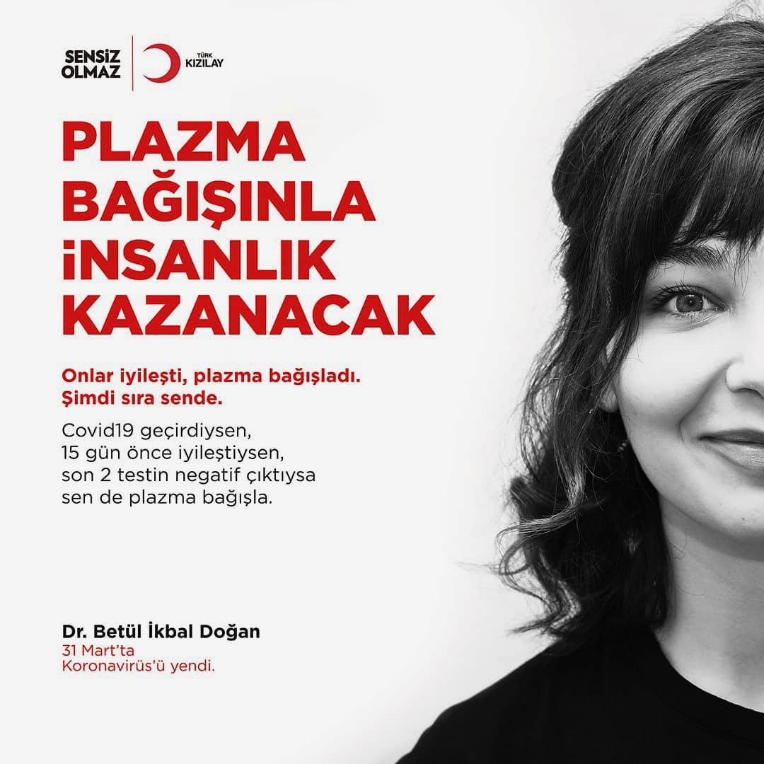 Kızılay Plazma Bağışı Kampanya Fotoğrafı