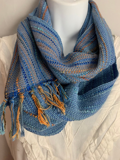 """Long Infinity Scarf in """"Mineral Stains"""""""