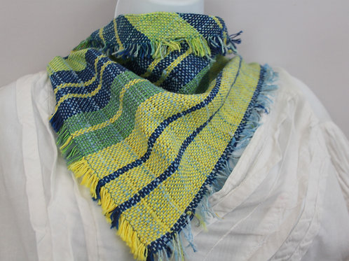 Spring Stripes Triangle Scarf