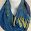 "Thumbnail: Blue ""Tropical Fish"" Long Infinity Scarf"