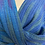 Thumbnail: Bright Blue Blueberry Twist Shawl
