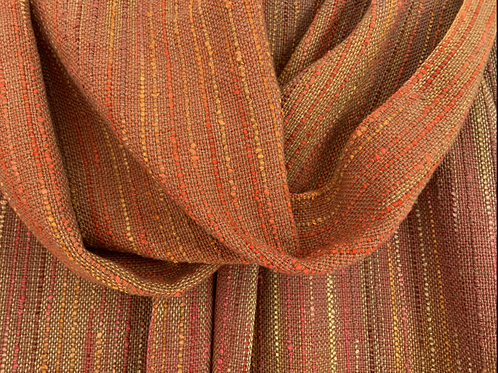 Tomato Seed Long Straight Shawl