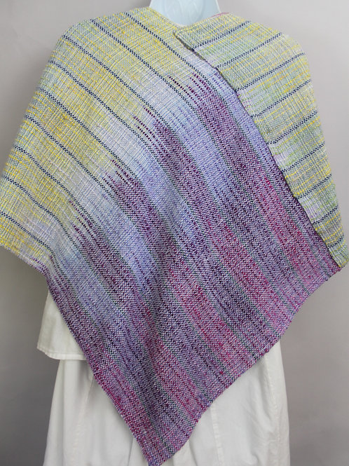 Light Violets Twist Shawl